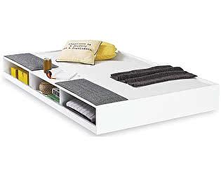 Купить кровать Cilek Выдвижное спальное место c полками White  90х190