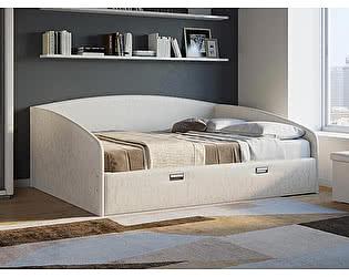 Купить кровать Орма-мебель Bono (цвета люкс и ткань)