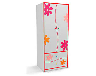 Купить шкаф Орма-мебель Соната Kids (для девочек)