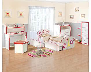 Купить кровать Орма-мебель Соната Kids Плюс для девочек