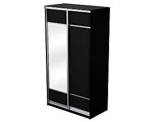 Купить шкаф Орма-мебель Como/Veda 2х дверный (купе) ЛДСП с зеркалом