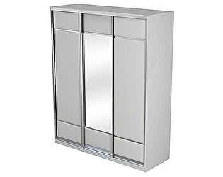 Купить шкаф Орма-мебель Como/Veda 3х дверный (купе) ЛДСП зеркало