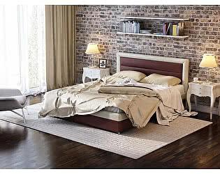 Купить кровать Орма-мебель Life 2 Box с боковым ПМ (цвета люкс и ткань)