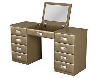 Купить стол Орма-мебель туалетный Como/Veda с зеркалом в столешнице (МДФ)
