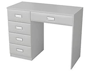 Купить стол Орма-мебель туалетный Como/Veda 5 ящиков (ЛДСП)