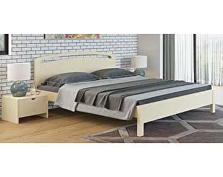 Купить кровать Орма-мебель Веста 1-М-тахта-R береза (белый, слоновая кость)