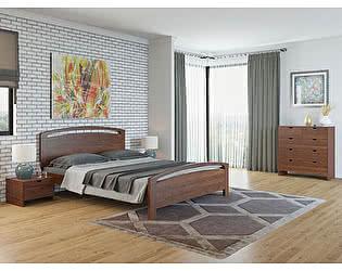 Купить кровать Орма-мебель Веста 1-М-R береза