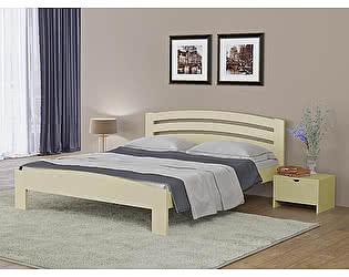 Купить кровать Орма-мебель Веста 2-М-R сосна (белый, слоновая кость)