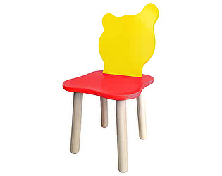 Купить стул Polli Tolli Джери Красно-желтый детский