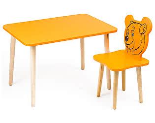 Купить стол Polli Tolli Комплект детской мебели Джери с оранжевым столиком