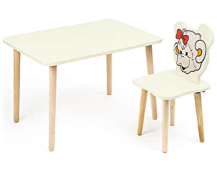 Купить стол Polli Tolli Комплект детской мебели Джери с ванильным столиком