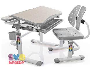 Купить стол Mealux Детская парта с регулировкой высоты и стулом EVO-05