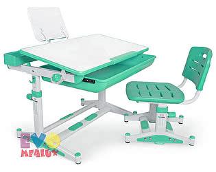 Купить стол Mealux Детская парта с регулировкой высоты и стулом EVO-04 XL