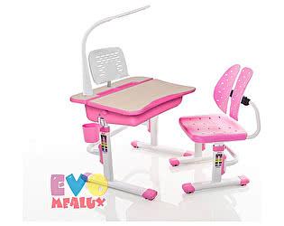 Купить стол Mealux Комплект парта и стульчик EVO-03 с лампой