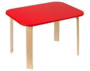Купить стол Polli Tolli детский Мордочки красный