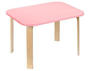 Купить стол Polli Tolli Мордочки розовый детский