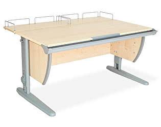 Купить стол Дэми СУТ-15-01 120х55 см + 2 задние приставки