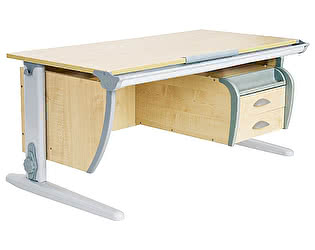 Купить стол Дэми СУТ-15-03 120х55 см + подвесная тумба