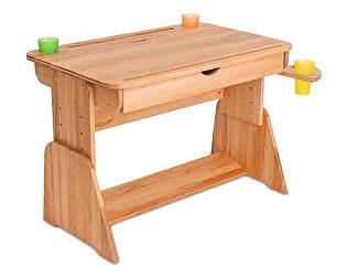 Купить стол Абсолют мебель Парта растущая Школярик С-490-1 с мольбертом и выдвижным ящиком (90 см)