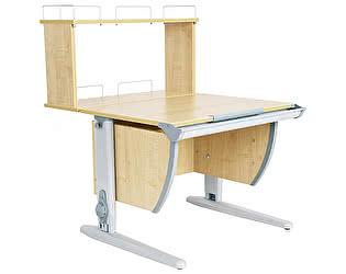 Купить стол Дэми СУТ 14-01Д (парта 75 см+задняя двухъярусная приставка)