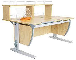 Купить стол Дэми СУТ 17-01Д2 (парта 120 см+две задние двухъярусные приставки)
