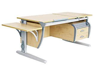 Купить стол Дэми трансформер СУТ 17-03К (парта 120 см+подвесная тумба+боковая приставка)