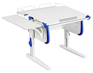 Купить стол Дэми WHITE СТАНДАРТ СУТ-24-02 с задней и боковой приставкой