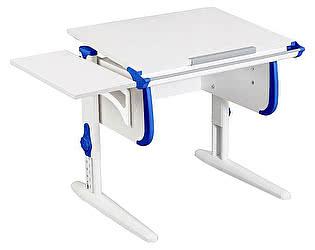 Купить стол Дэми трансформер WHITE СТАНДАРТ СУТ-24К с боковой приставкой