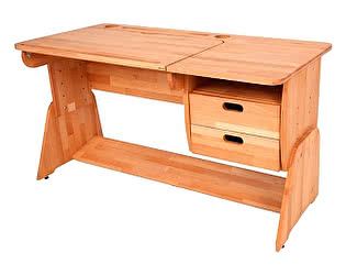 Купить стол Абсолют мебель Парта Школярик С412-1 с мольбертом (120 см) для первоклассника