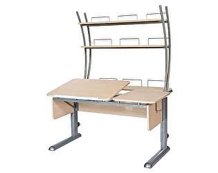 Купить стол Астек ТВИН-2 с надстройкой (парта) для дома