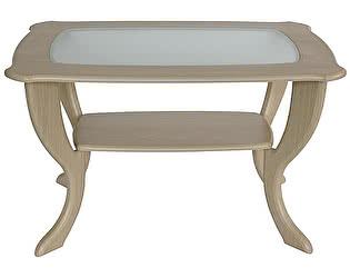 Купить стол Калифорния мебель Маэстро со стеклом СЖС-01