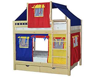 Купить кровать Мебель Холдинг Скворушка-2 двухъярусная