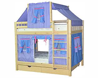 Купить кровать Мебель Холдинг Скворушка-3 двухъярусная