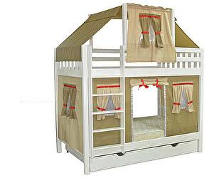 Купить кровать Мебель Холдинг Скворушка-5 двухъярусная