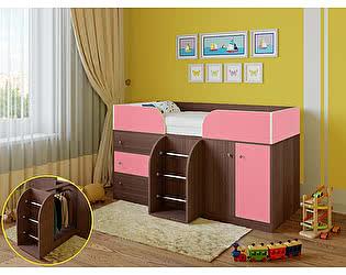 Купить кровать РВ Мебель чердак Астра-5 Дуб Шамони