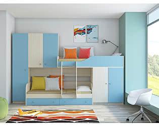 Купить кровать РВ Мебель Лео двухъярусная