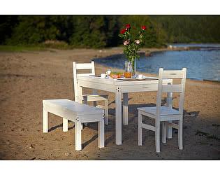 Купить комплект садовой мебели Timberica Лахти + 2 стула Дачный + скамья Лахти