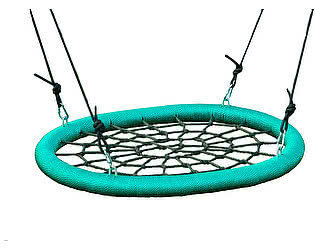 Купить качели Облачный замок Качели гнездо 85х110 см садовые