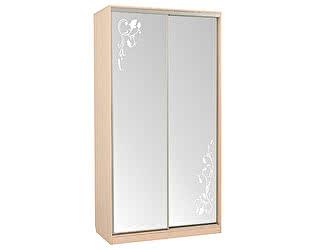 Купить шкаф Мебельсон Рио-4 цветы / Гранд-4 цветы