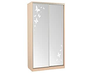 Купить шкаф Мебельсон Рио-4 бабочки / Гранд-4 бабочки