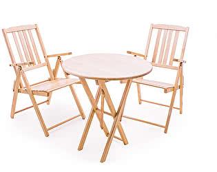 Купить комплект садовой мебели СМКА СМ012Б + СМ047Б