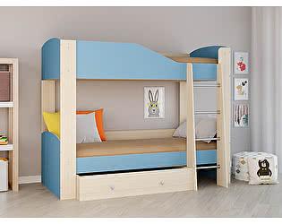 Купить кровать РВ Мебель Астра-2 Дуб молочный