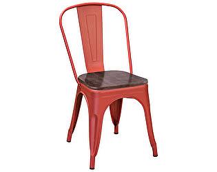 Купить стул R-Home  Tolix Wood Красный