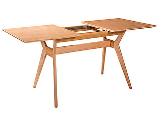 Купить стол R-Home  раскладной Нарвик натуральный бук, 140 см