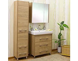 Купить готовую ванную комнату Sanflor Ларго 80 вяз швейцарский