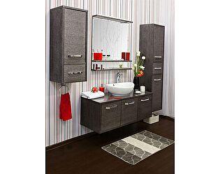 Купить готовую ванную комнату Sanflor Румба 60 венге, патина серебро