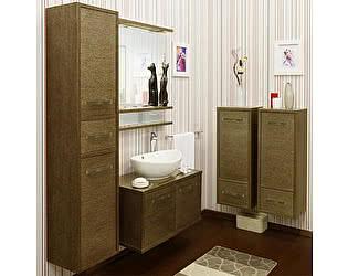 Купить готовую ванную комнату Sanflor Румба 82 венге, патина золото