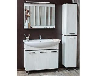 Купить готовую ванную комнату Sanflor Толедо 105 венге, северное дерево светлое