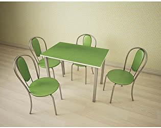 Купить стол Шагус ТД обеденный стеклянный Густав