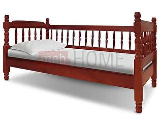 Купить кровать ВМК-Шале Смайл с тремя спинками
